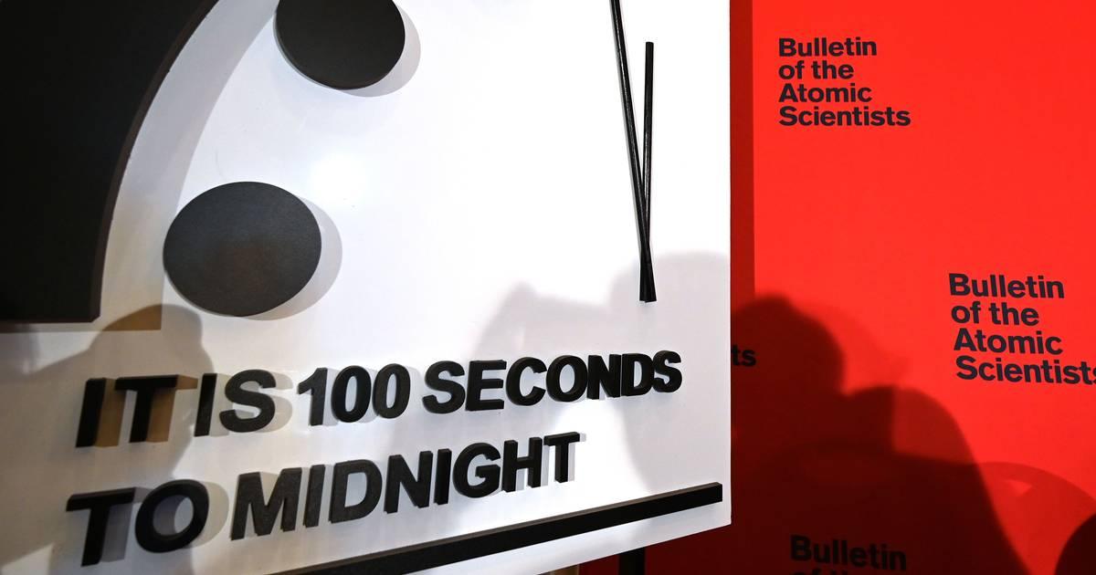 Weltuntergangsuhr: Es ist 100 Sekunden vor Mitternacht