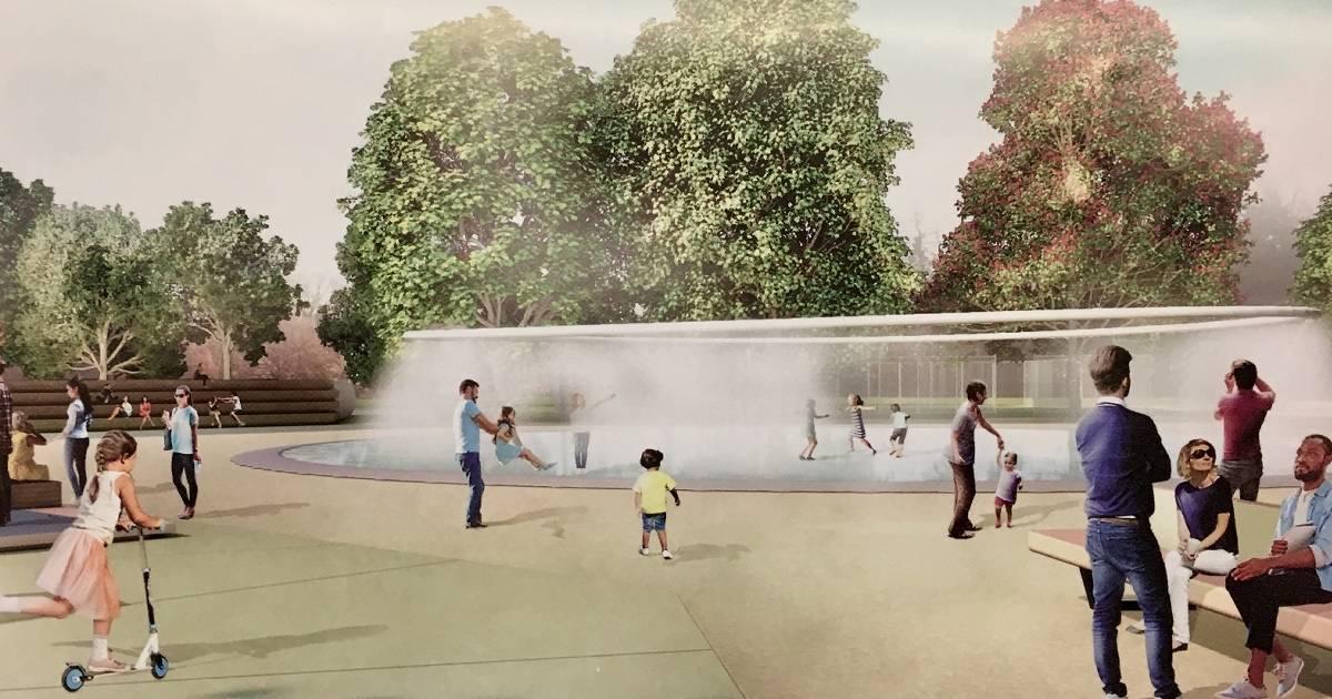 Magie des Wassers im neuen Freizeitpark Moers
