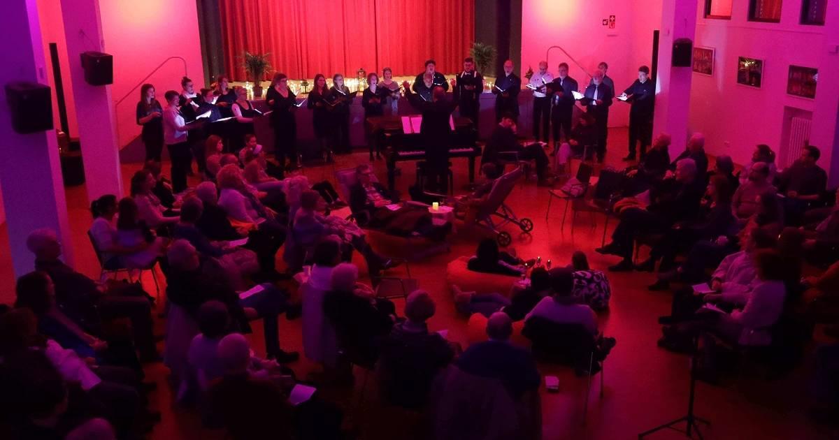 """""""Art Tonale"""" sorgt in der Marienschule für gesungene Wellness"""