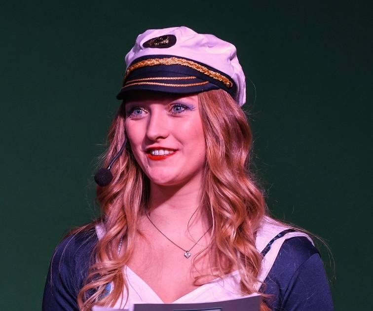 Moderatorin beim Karneval im Achterhoek in Kevelaer ist die 22-jährige Isabell Eickhoff.