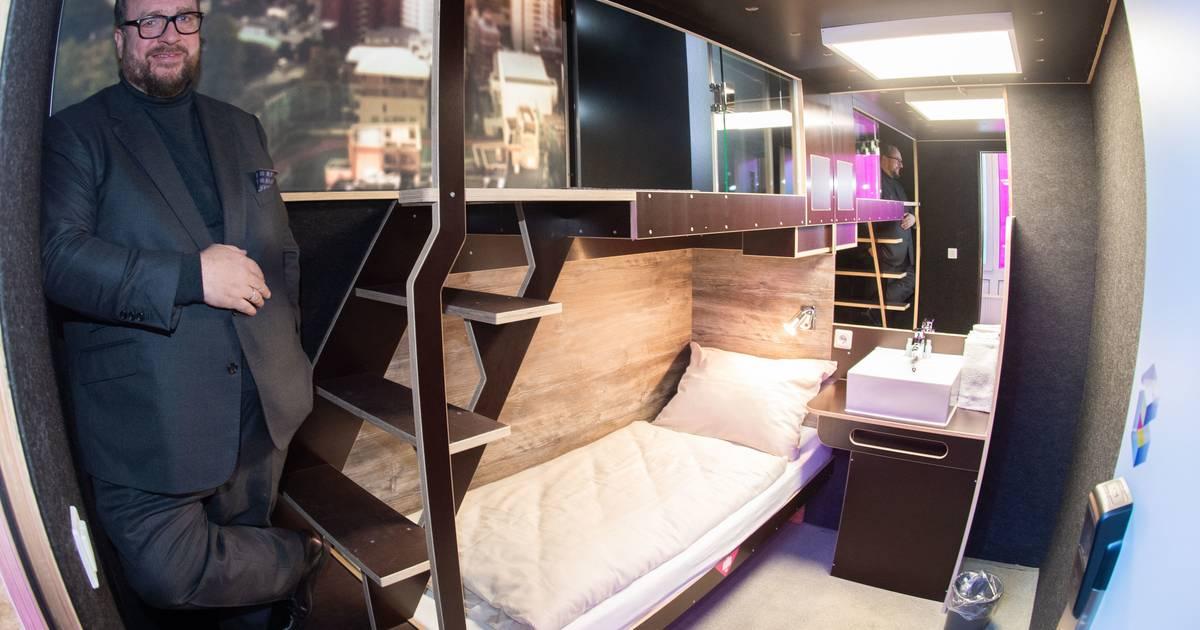 BoxHotel Hannover: Hier dürfen Gäste nur drei Nächte übernachten