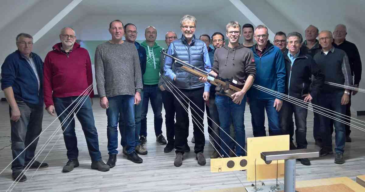 Neuanschaffung der Bruderschaft Wachtendonk-Gelinter dank Spende.
