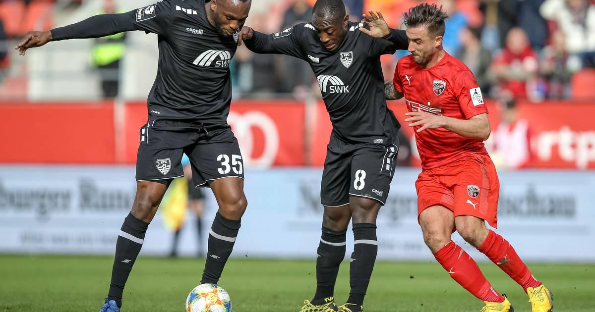 1:0-Sieg in Ingolstadt: Franck Evina erlöst den KFC Uerdingen spät