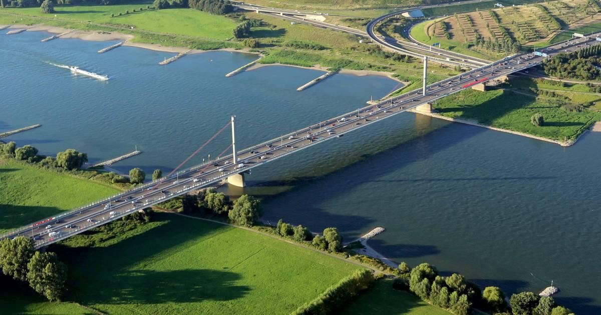 Sperrung A1 Leverkusener Brücke