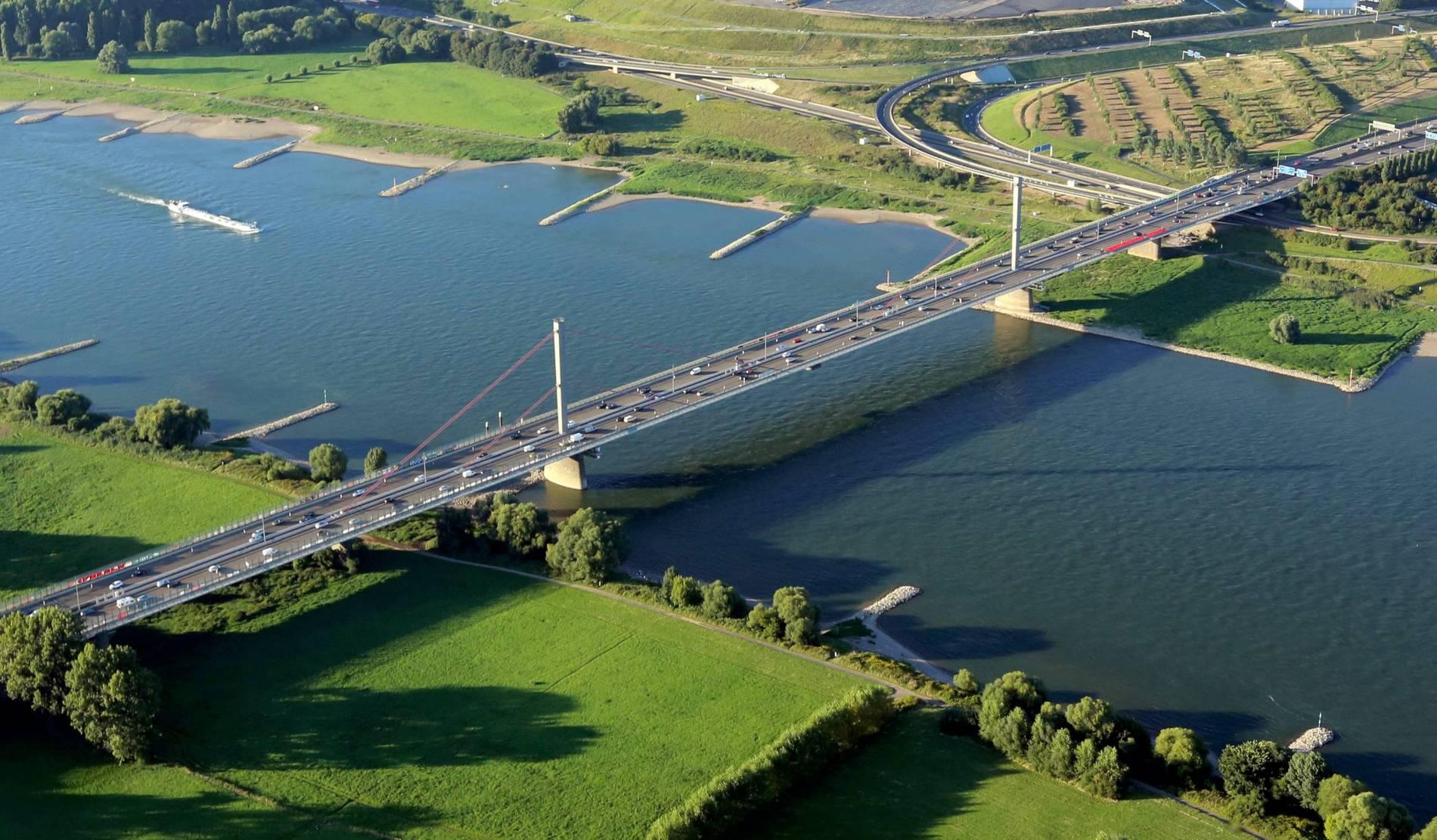 Rheinbrücke Leverkusen Sperrung