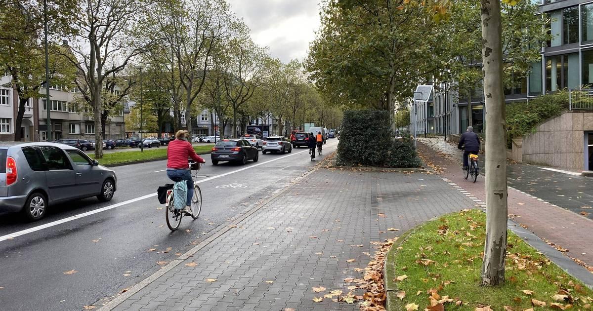 Stadt will Ausbau der Sonderspur: Düsseldorfer Oberbürgermeister Geisel will Umweltspur durch den Norden verlängern