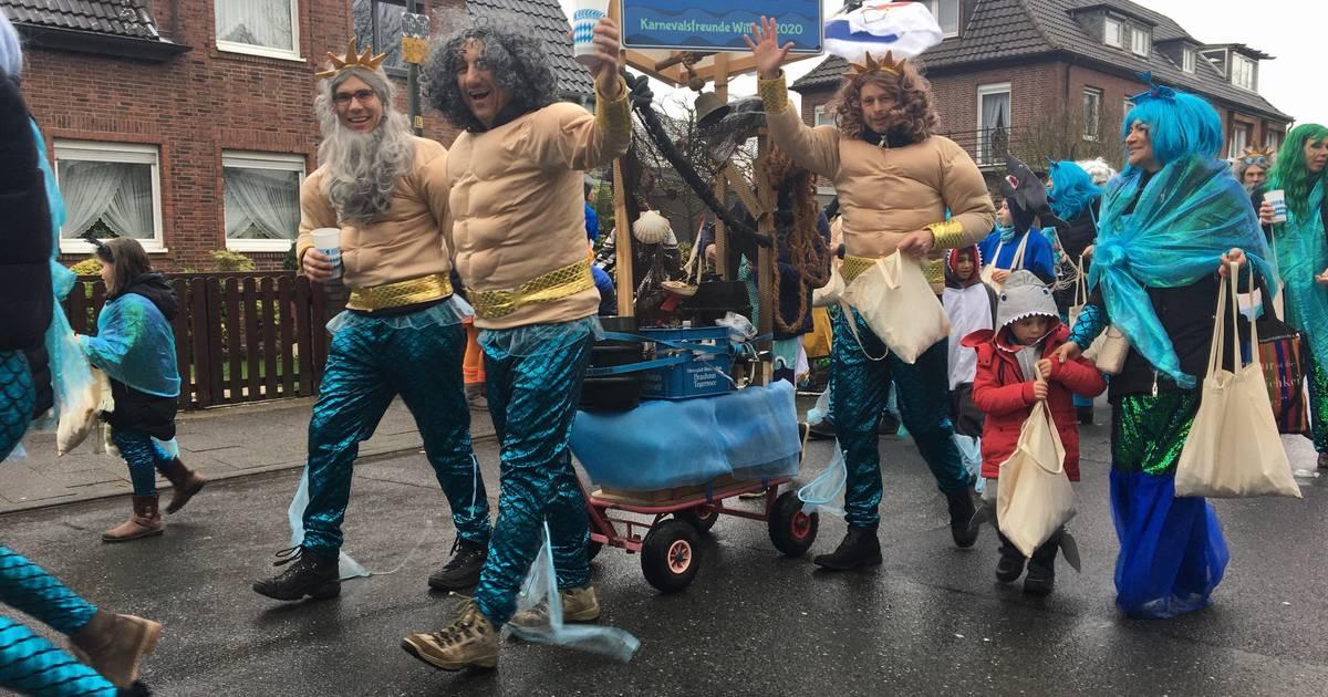 Karneval in Düsseldorf: Minions und Nixen erobern den Norden