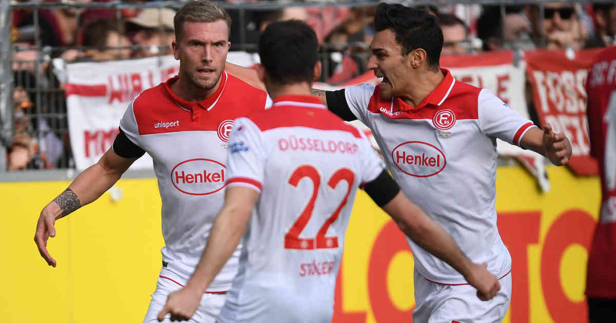Freiburg - Fortuna 0:2: Fortuna landet wichtigen Sieg in Freiburg