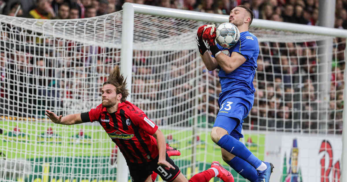Fortunas Torhüter: Florian Kastenmeier begeistert seinen Trainer