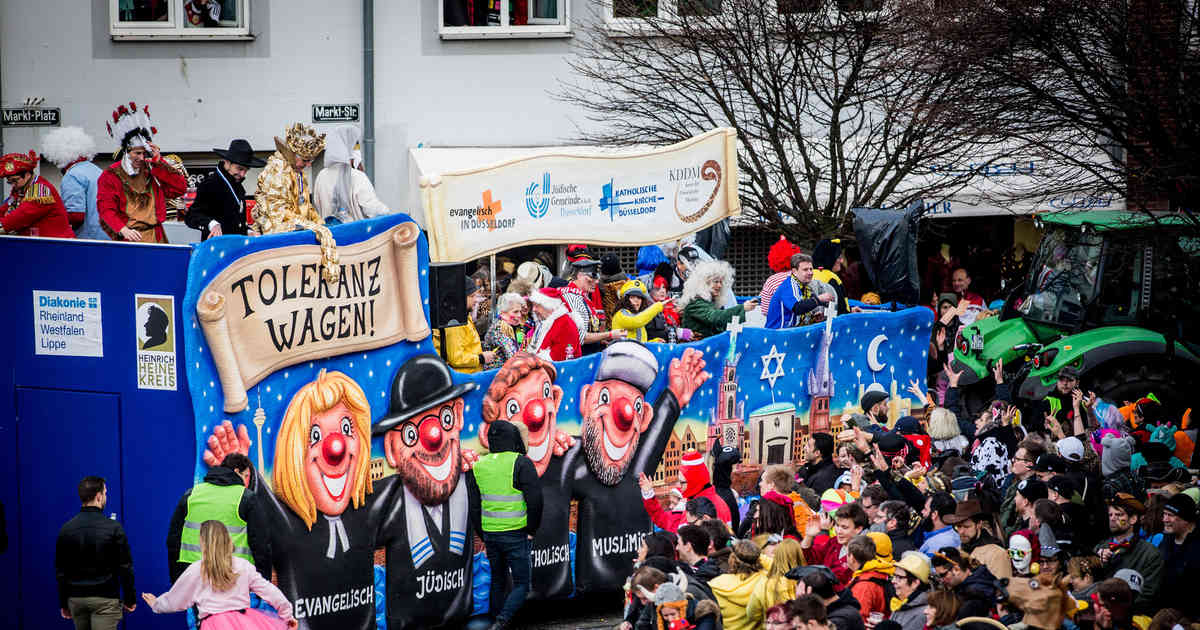 Toleranzwagen im Düsseldorfer Rosenmontagszug: Ärger um Übertragung des Rosenmontagszugs