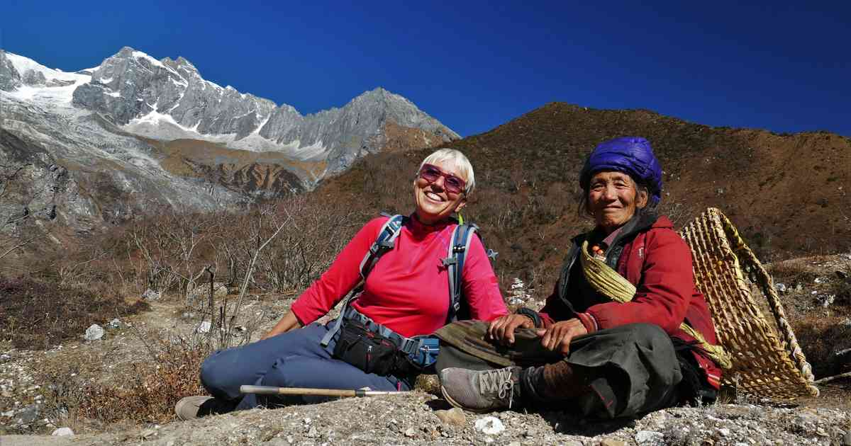 Interview Annette Wozny-Koepp: Zwei Flachlandtiroler im Himalaya