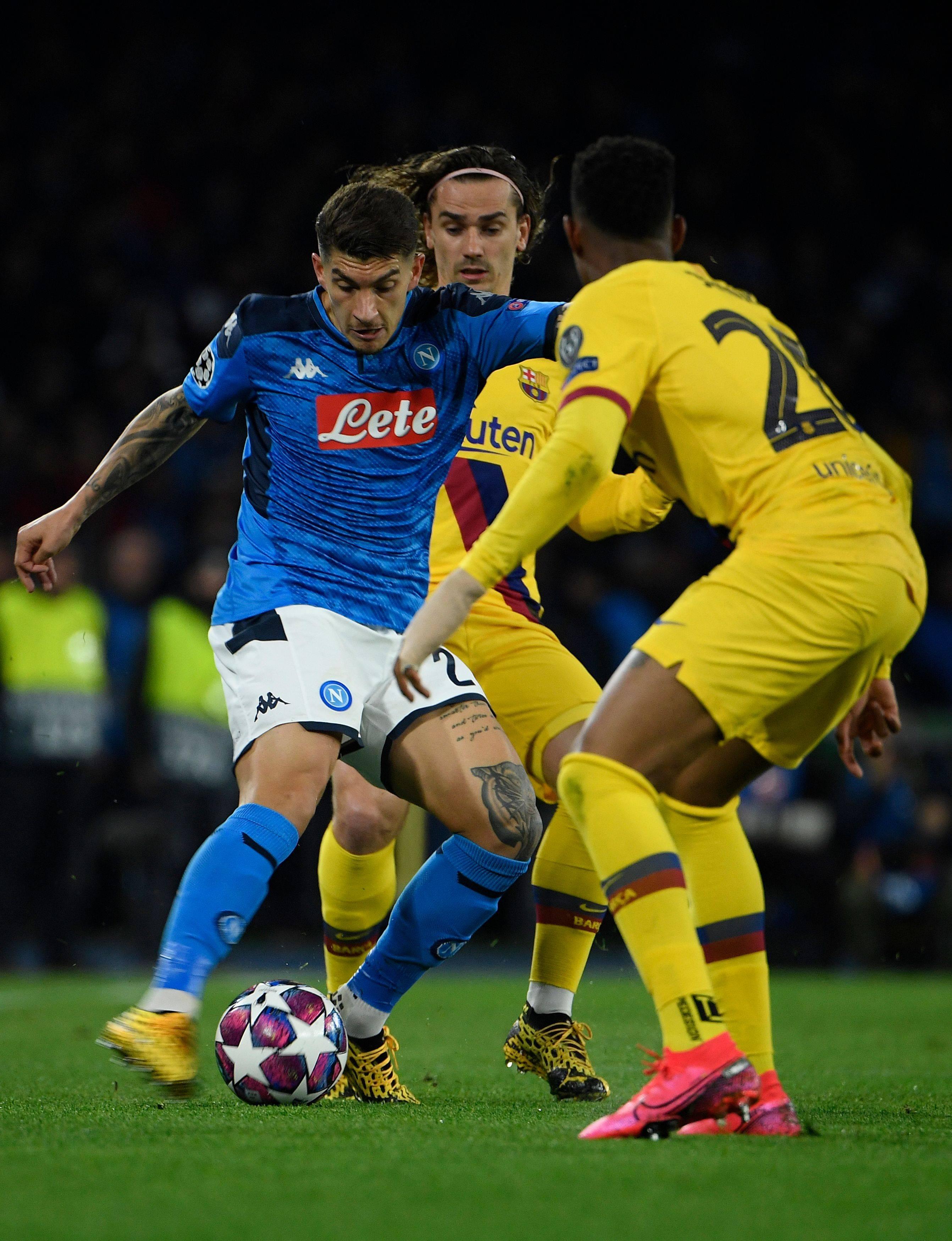 Neapel Gegen Barcelona