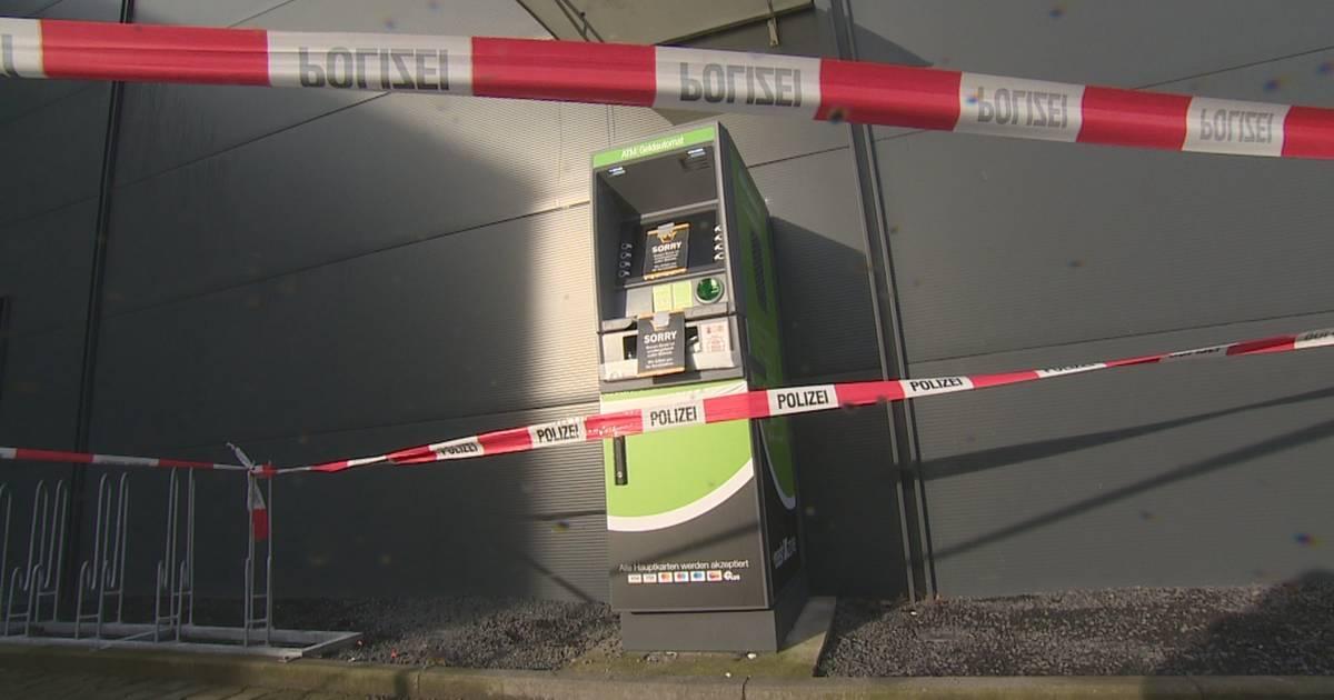 Ermittlungen in Emmerich: Tödlicher Unfall nach versuchter Geldautomaten-Sprengung?