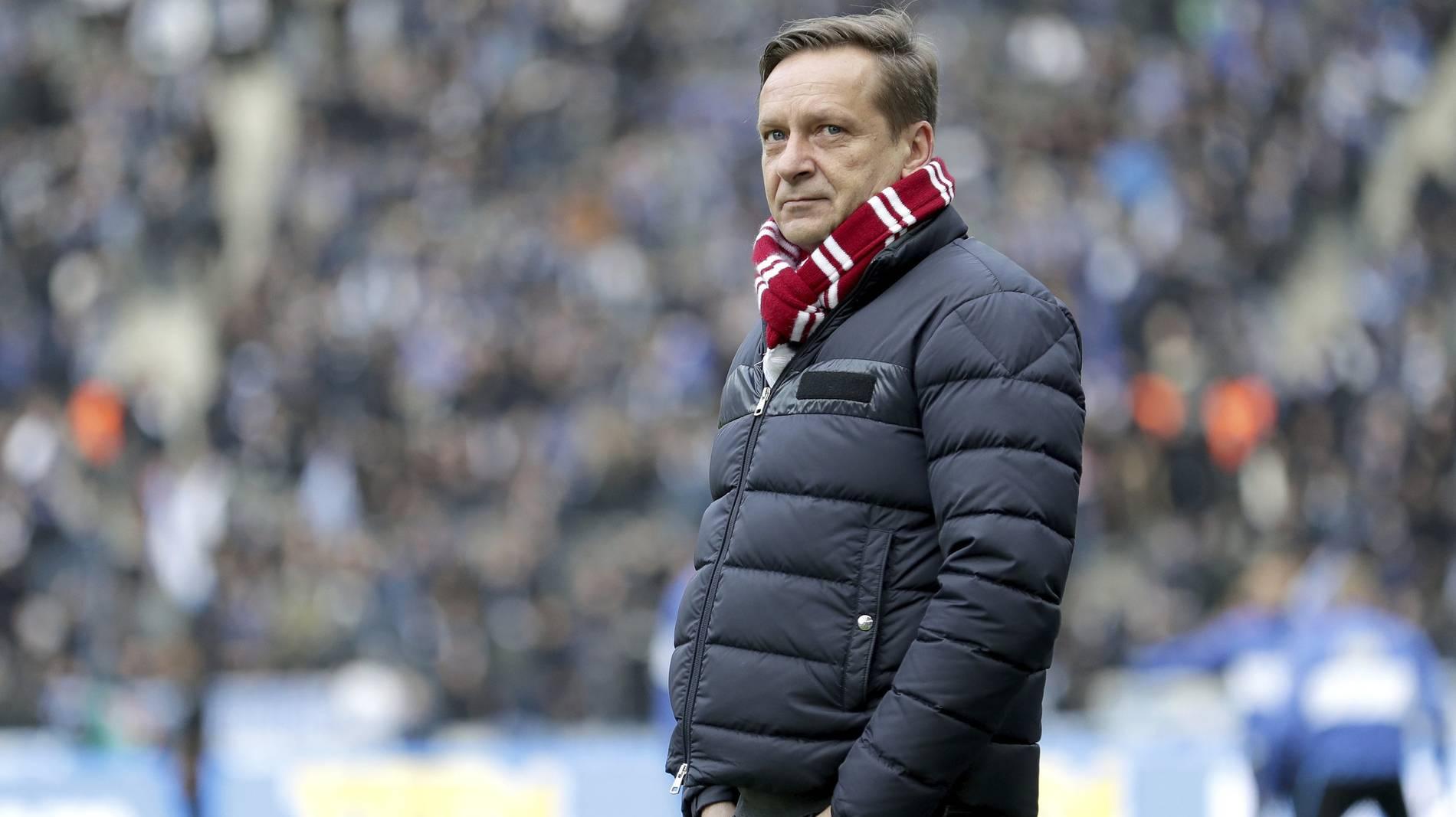 Horst Heldt Schalke