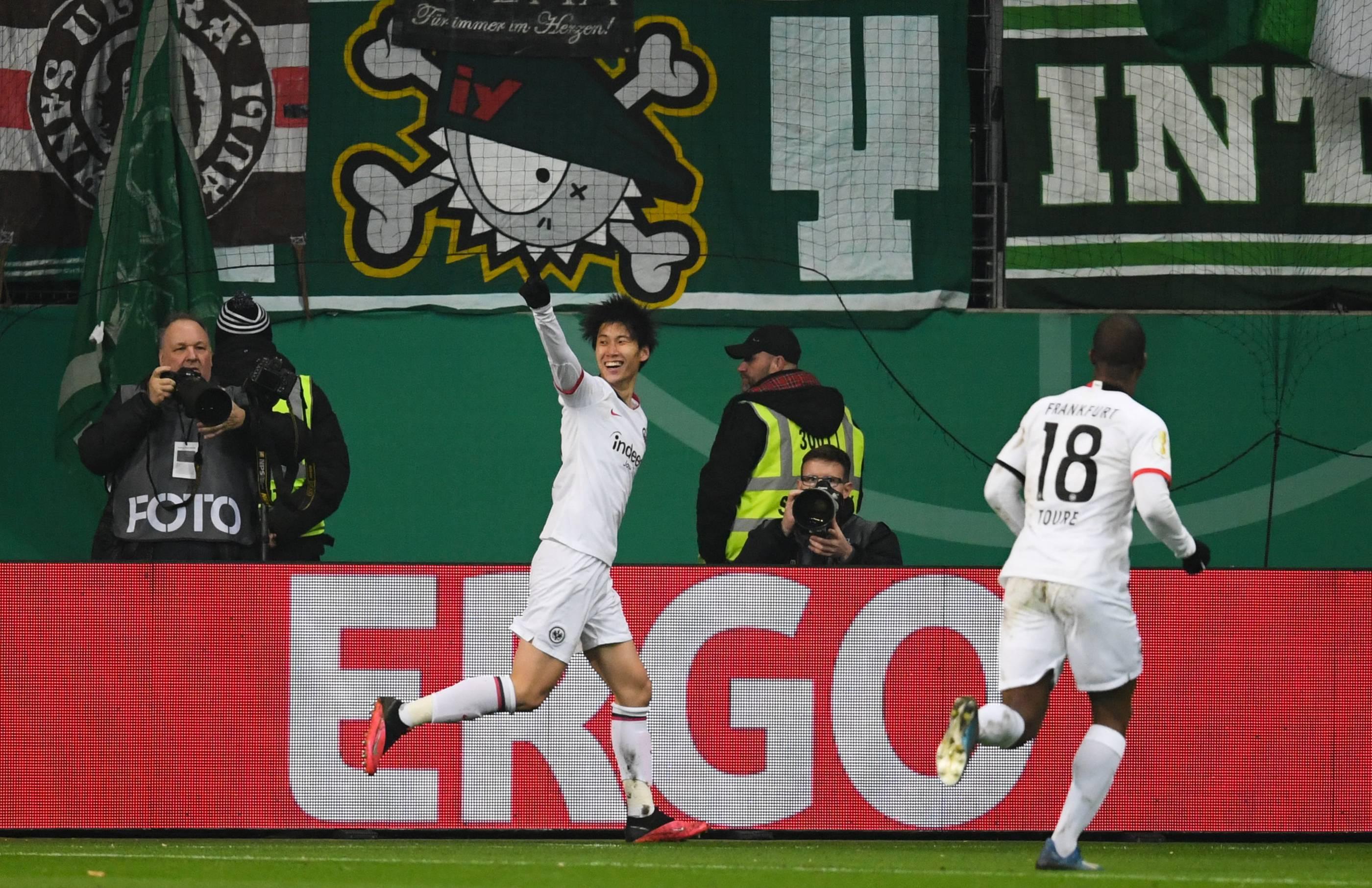 Dfb Pokal Frankfurt Bremen