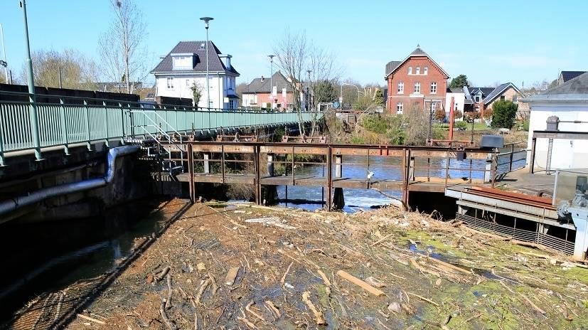 Wasser in Grevenbroich ist verschmutzt: Plastikmüll sammelt sich in der Erft