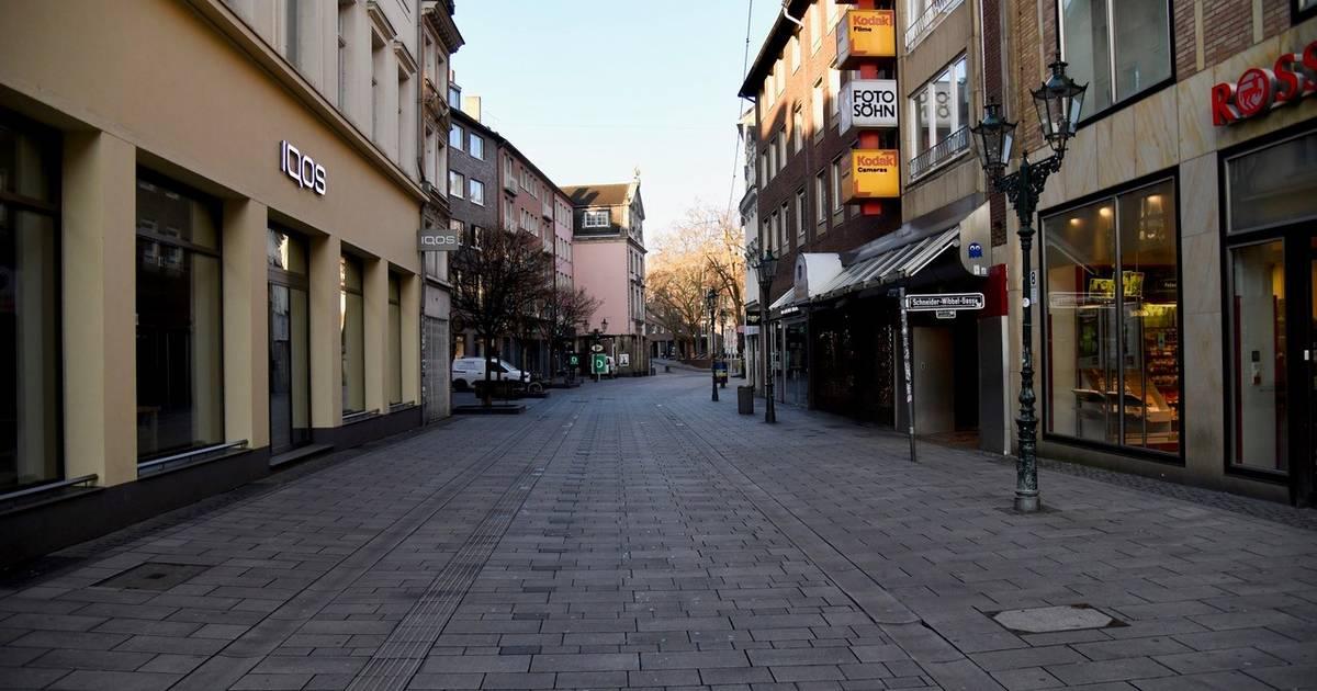 Weniger zu tun für die Polizei in Düsseldorf: Auch die Einbrecher bleiben wegen Corona zu Hause
