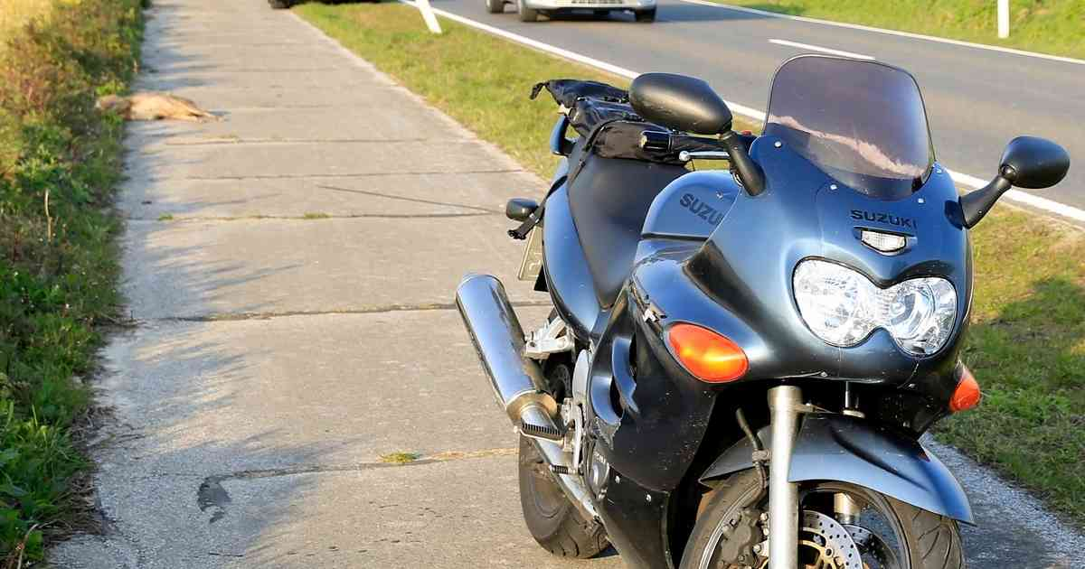 Auf der Landstraße 375: Motorradfahrerin bei Unfall mit Reh leicht verletzt