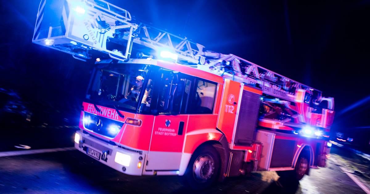 Feuerwehr-Einsatz: Holzschuppen in Uedem abgebrannt