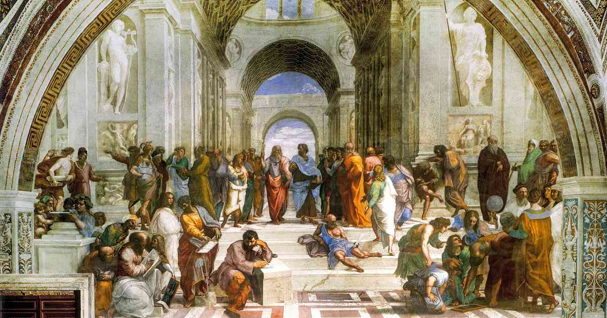 Grandioser Künstler: Raffael rühmt Himmel und Erde