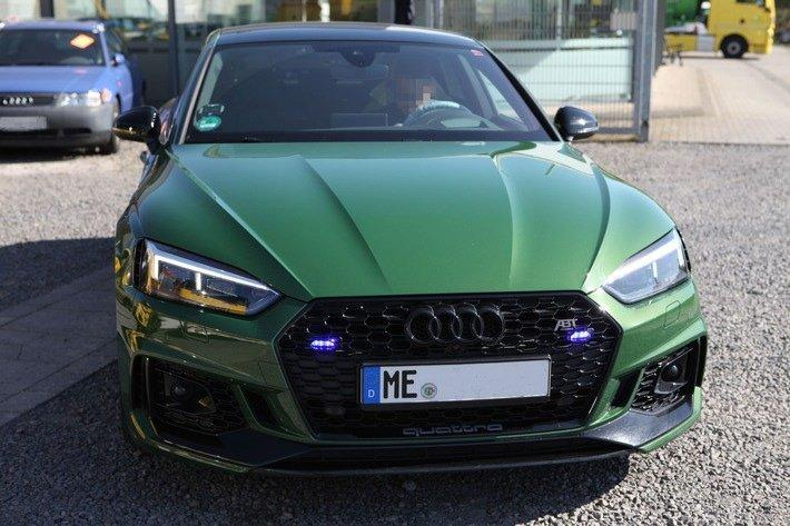 Kreis Mettmann: ME-Fahrer als falscher Polizist unterwegs