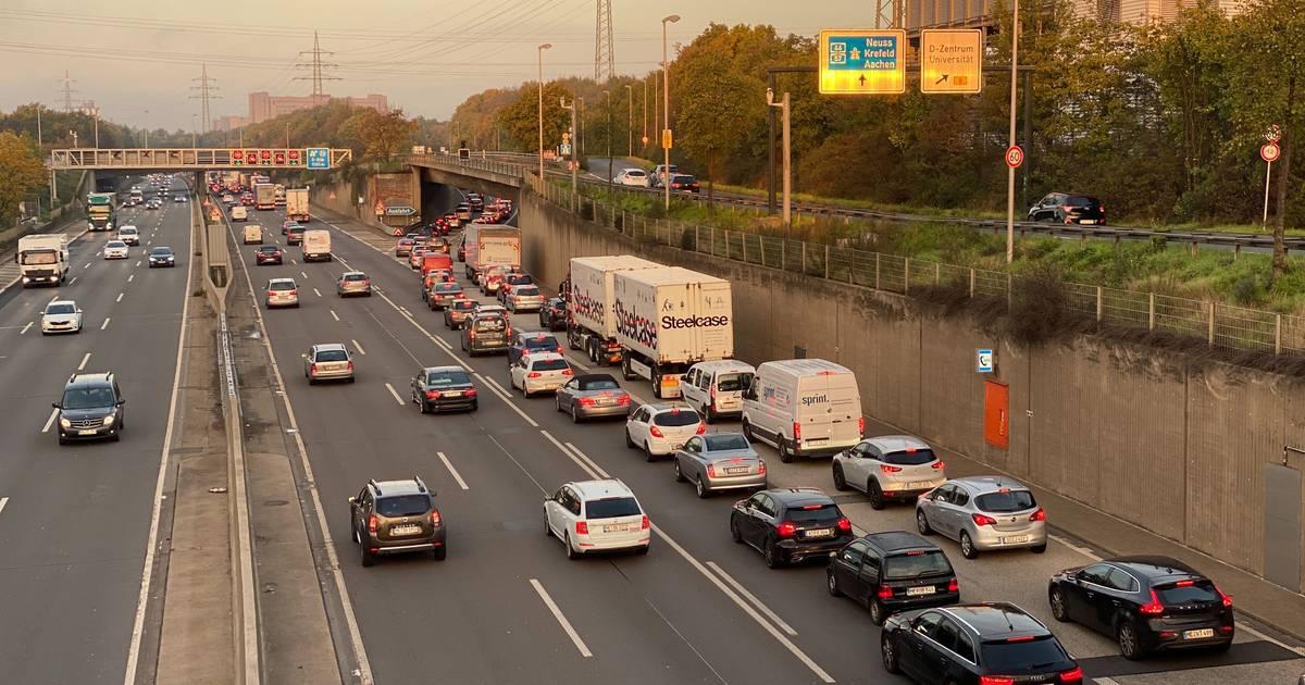 Verkehr in Düsseldorf: OB Geisel gibt Idee von Umweltspur auf A46 auf