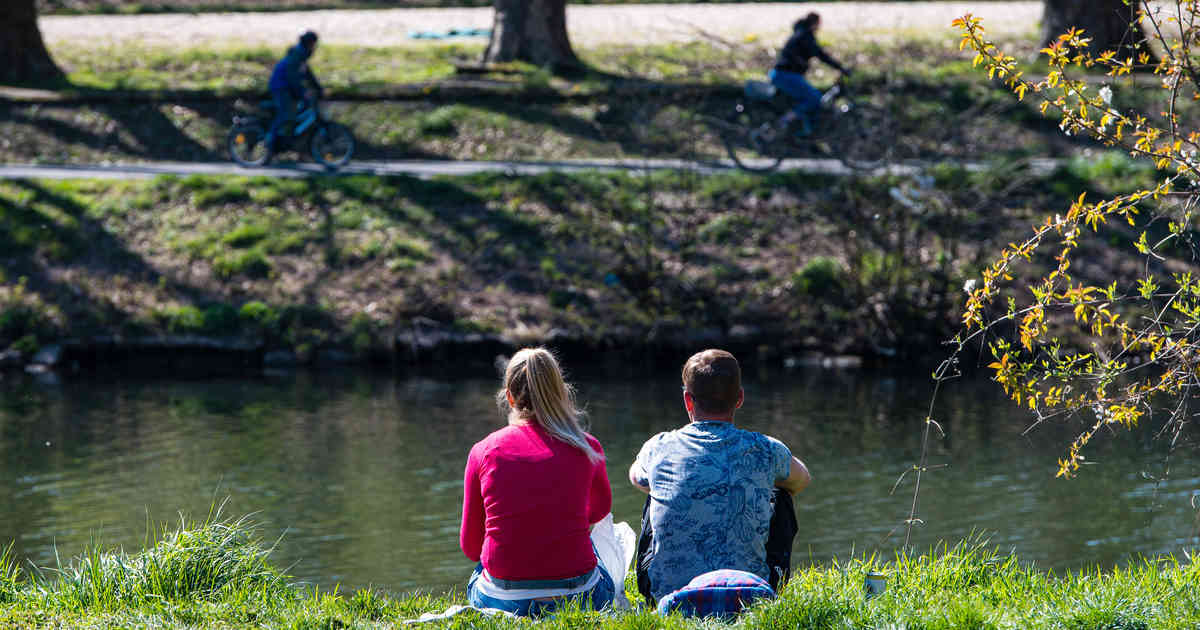 Frühlingswetter in NRW: Bis zu 24 Grad und viel Sonne am Montag erwartet