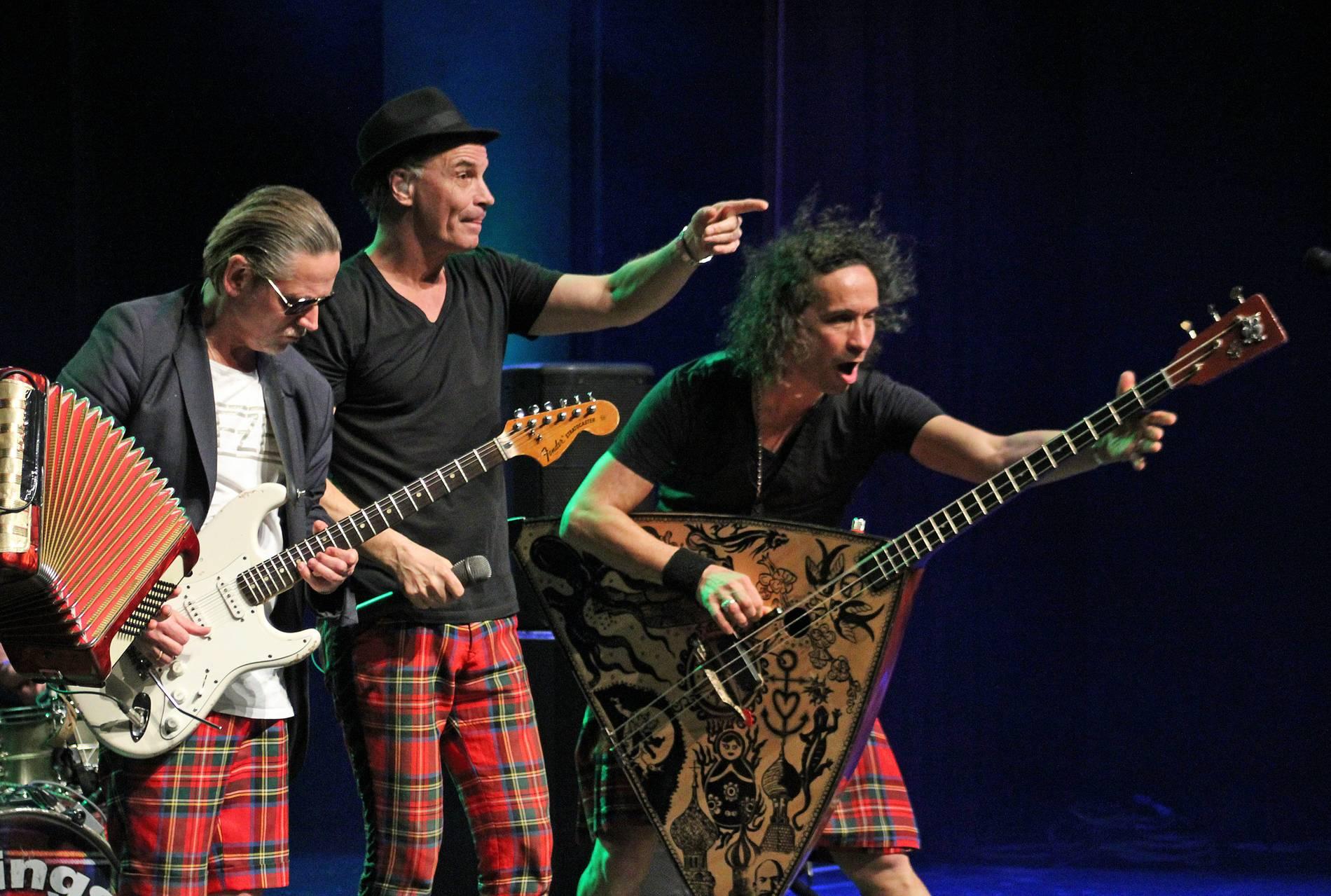 Die Band Brings bei einem Auftritt