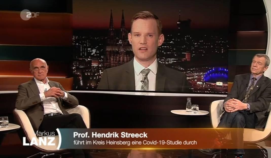 """Virologe Hendrick Streeck bei Markus Lanz: """"Es kommt darauf an, wie man zählt..."""""""