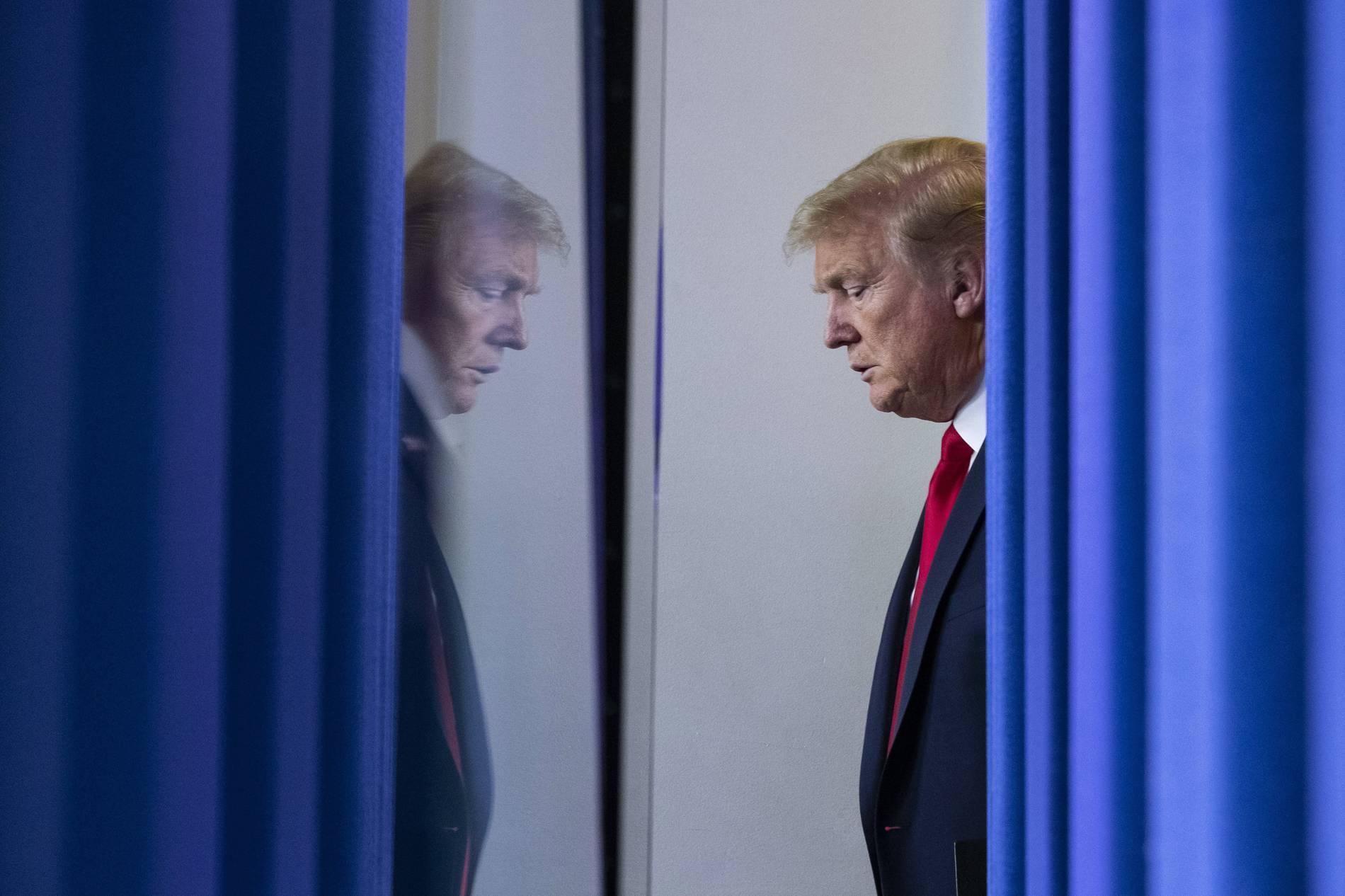Desinfektionsmittel: Trump rudert zurück