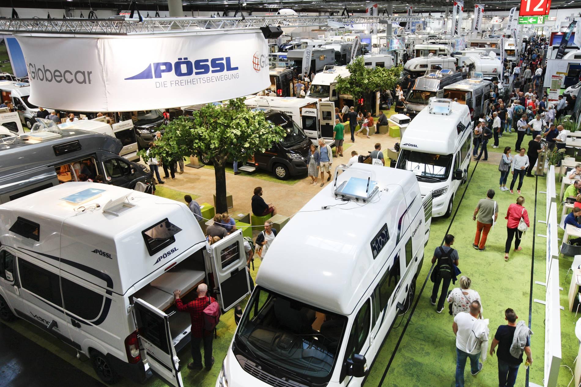 Caravan-Salon 9: Messe startet in Düsseldorf jetzt im September