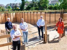 Erftsiedlungsgenossenschaft in Wevelinghoven : Sechs Millionen für neue Wohnungen