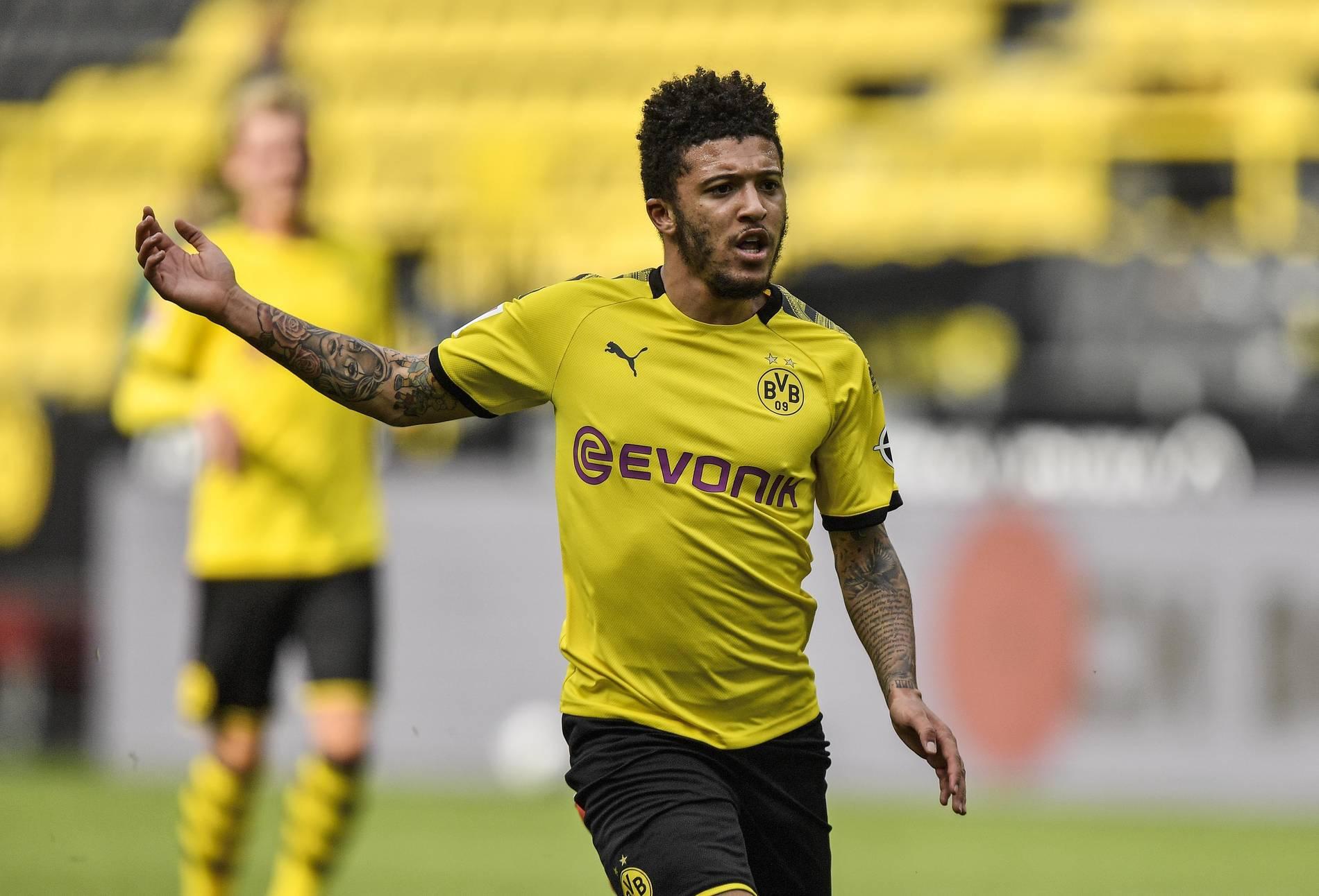 Borussia Dortmund Geldstrafe Fur Jadon Sancho Und Manuel Akanji Wegen Friseurbesuch