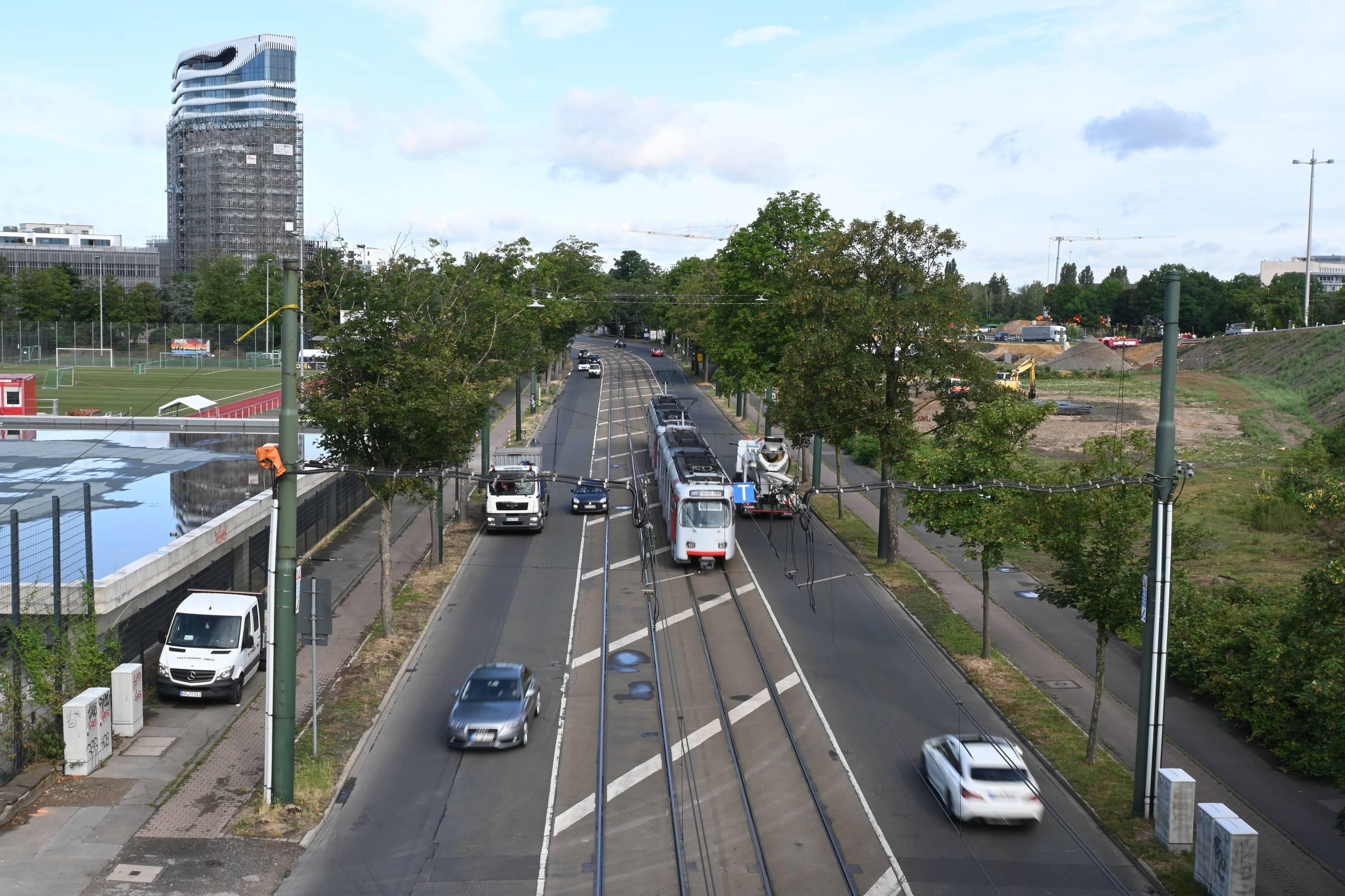 Rheinalleetunnel Sperrung