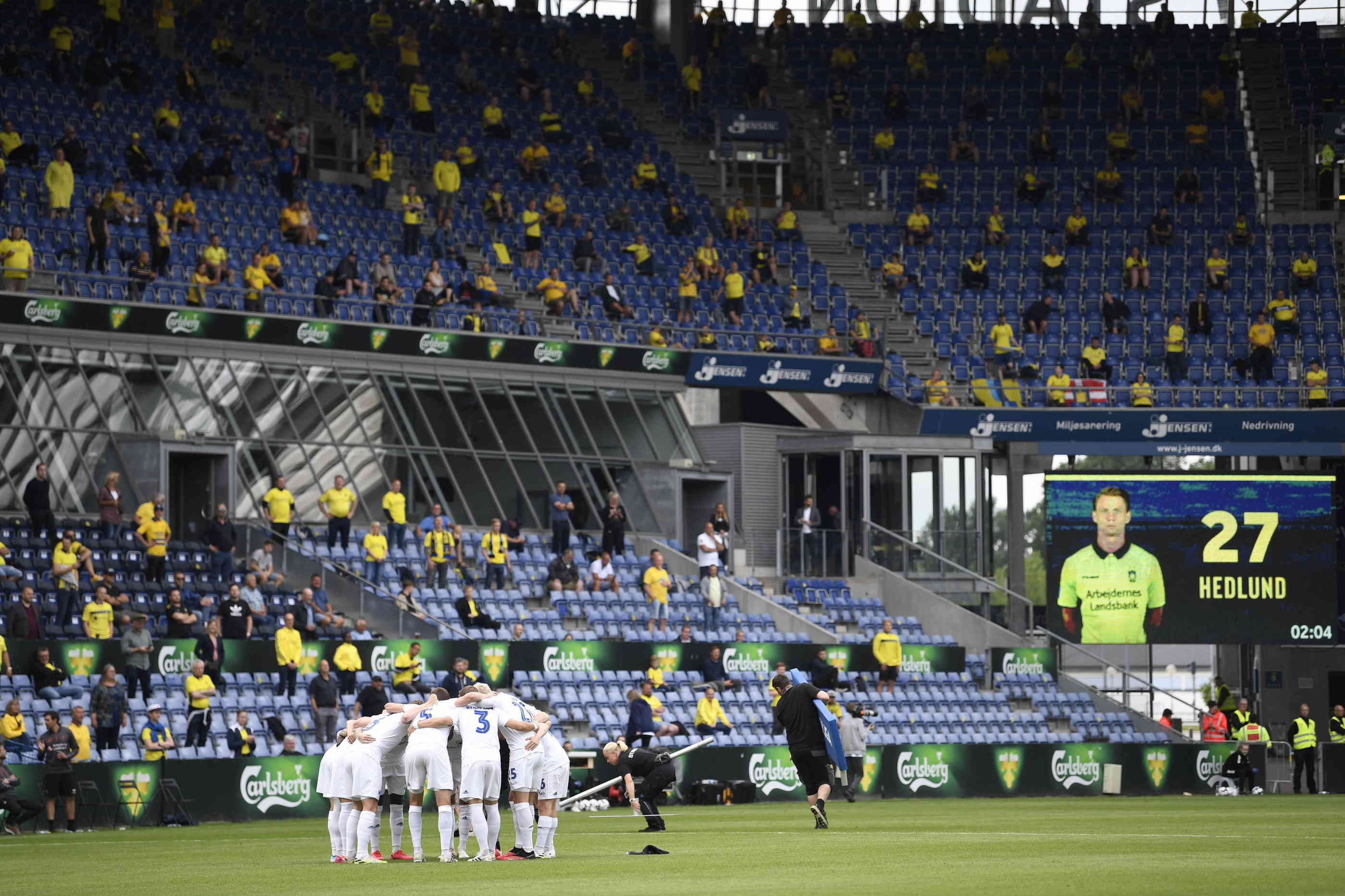 Fußball Zuschauer Corona