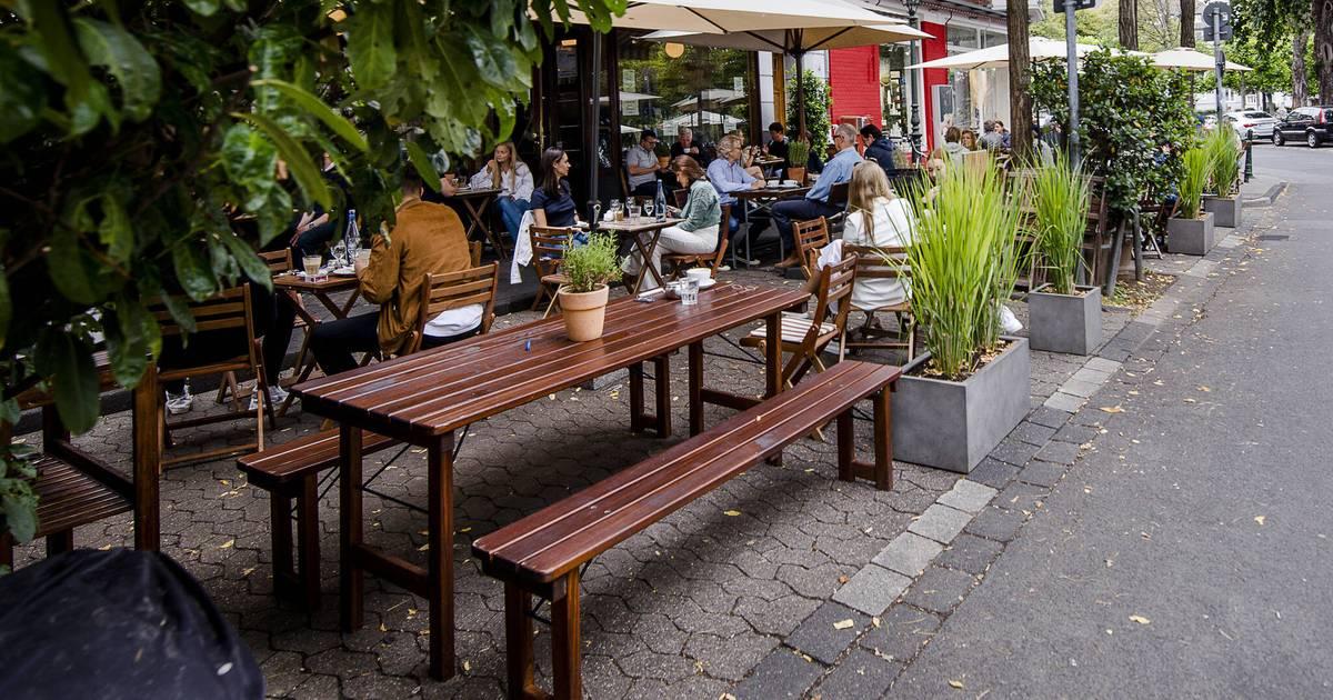Corona-Krise in Düsseldorf: Gastronomie profitiert von größeren Terrassen