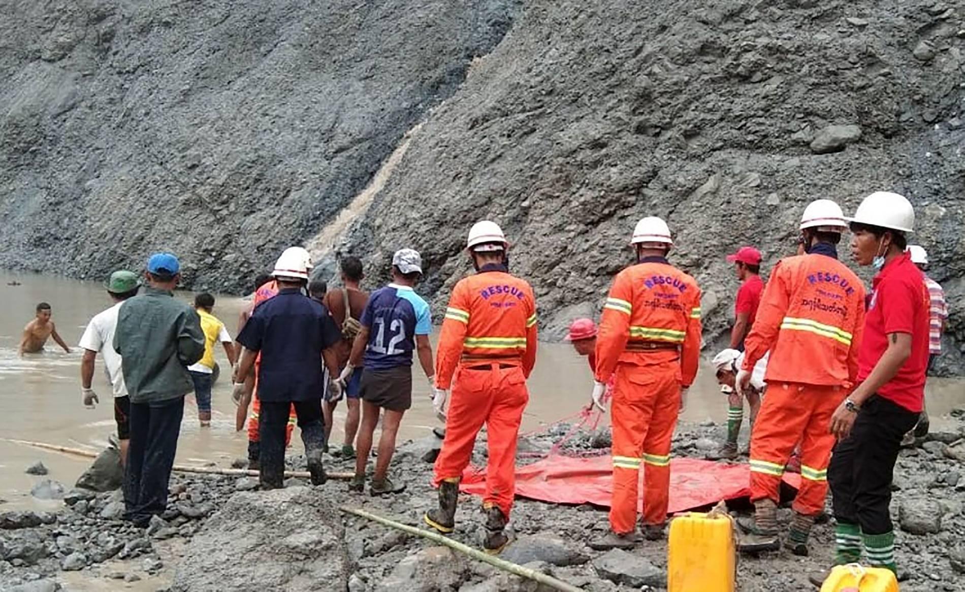 Myanmar - Mehr als 110 Tote bei Erdrutsch in Jade-Mine