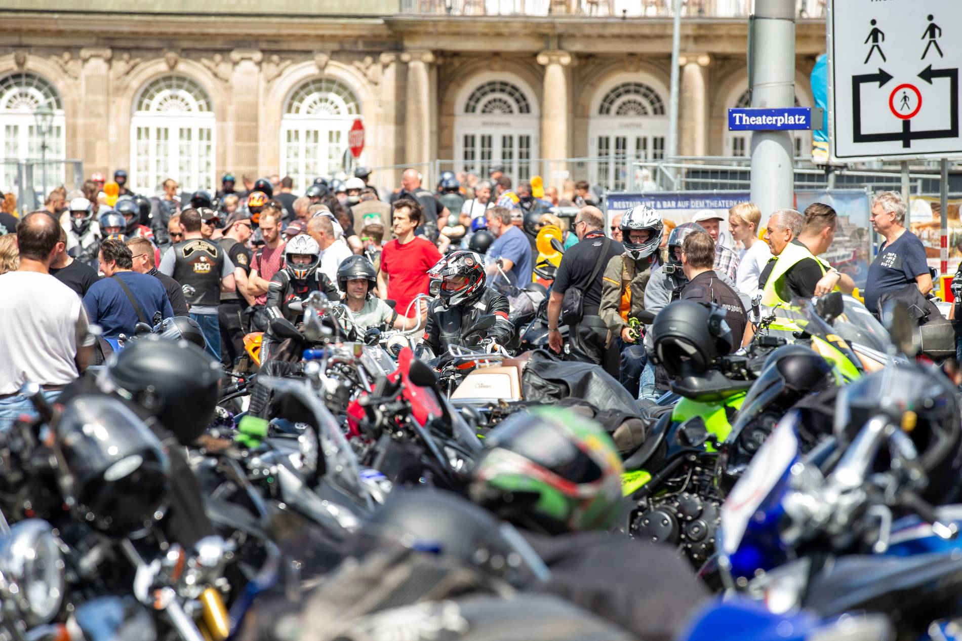 Motorrad-Fahrverbot Wochenende