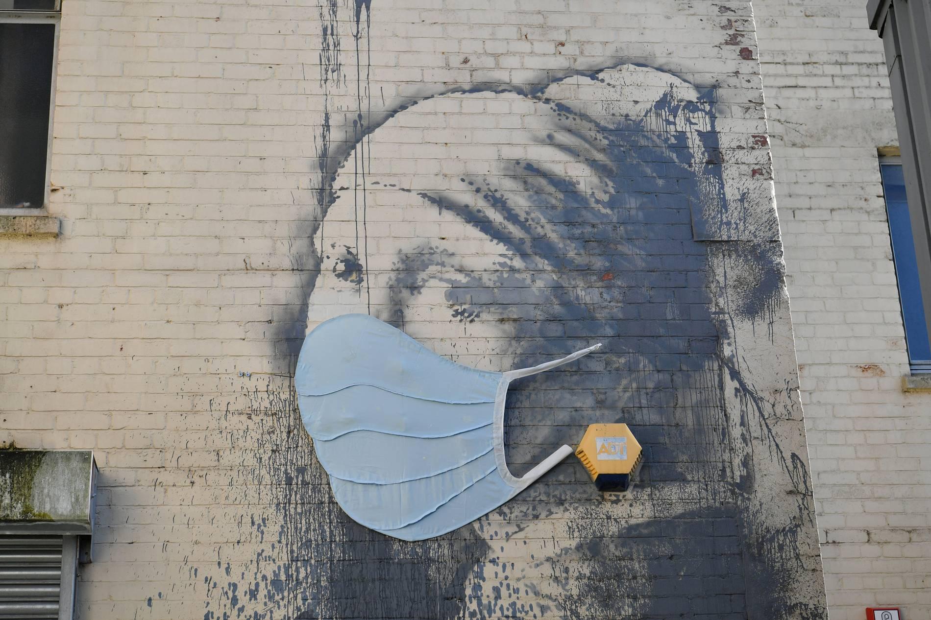 Banksys Corona-Appell in Londoner U-Bahn von Behörden entfernt