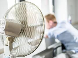 Arbeitsschutz: Wenn das Büro zur Sauna wird