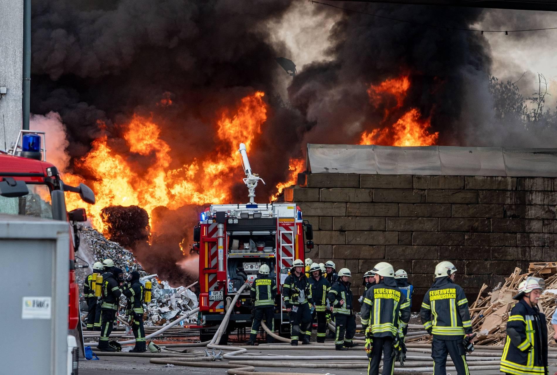 Großbrand Gummersbach
