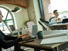 Coworking Spaces: Arbeit mit Blick ins Grüne