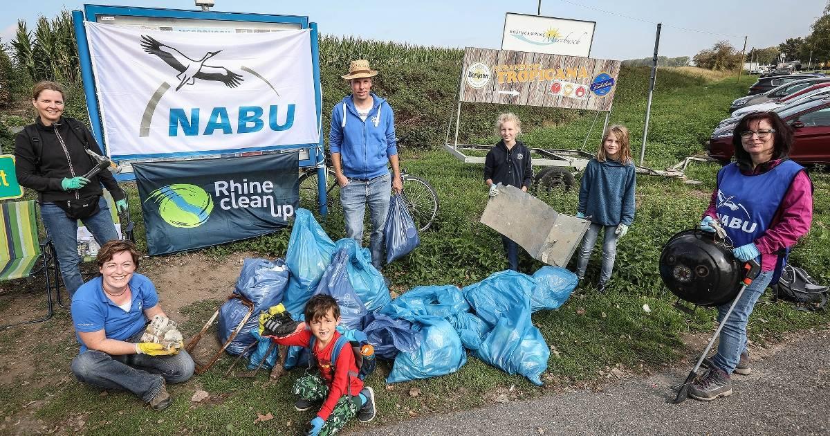 Rhine Clean Up