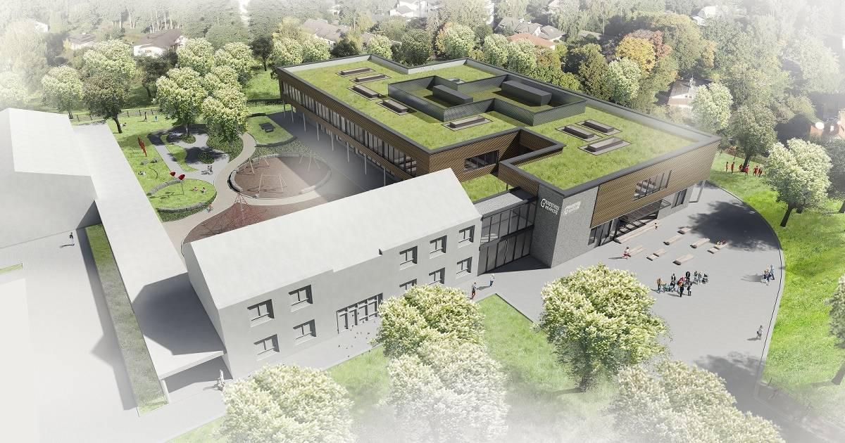 Neubau in Mehrhoog: Grundschule Mehrhoog soll 2022 starten