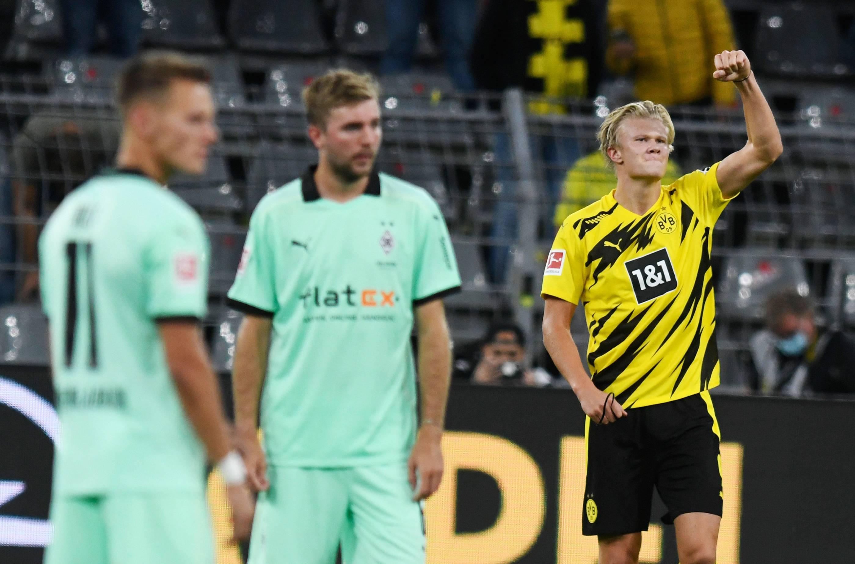 Bundesliga 2020 21 Borussia Dortmund Gegen Borussia Monchengladbach Die Bilder Des Spiels