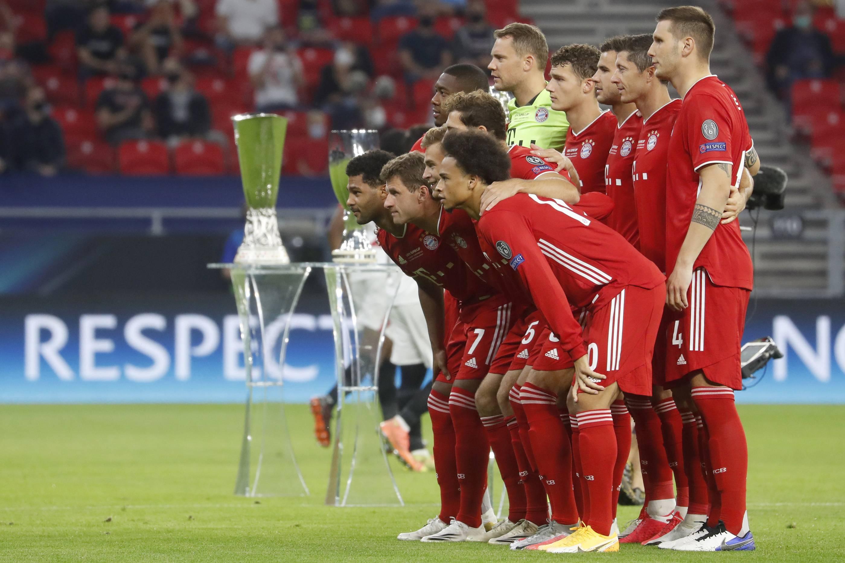 Fussball Bayern Sevilla
