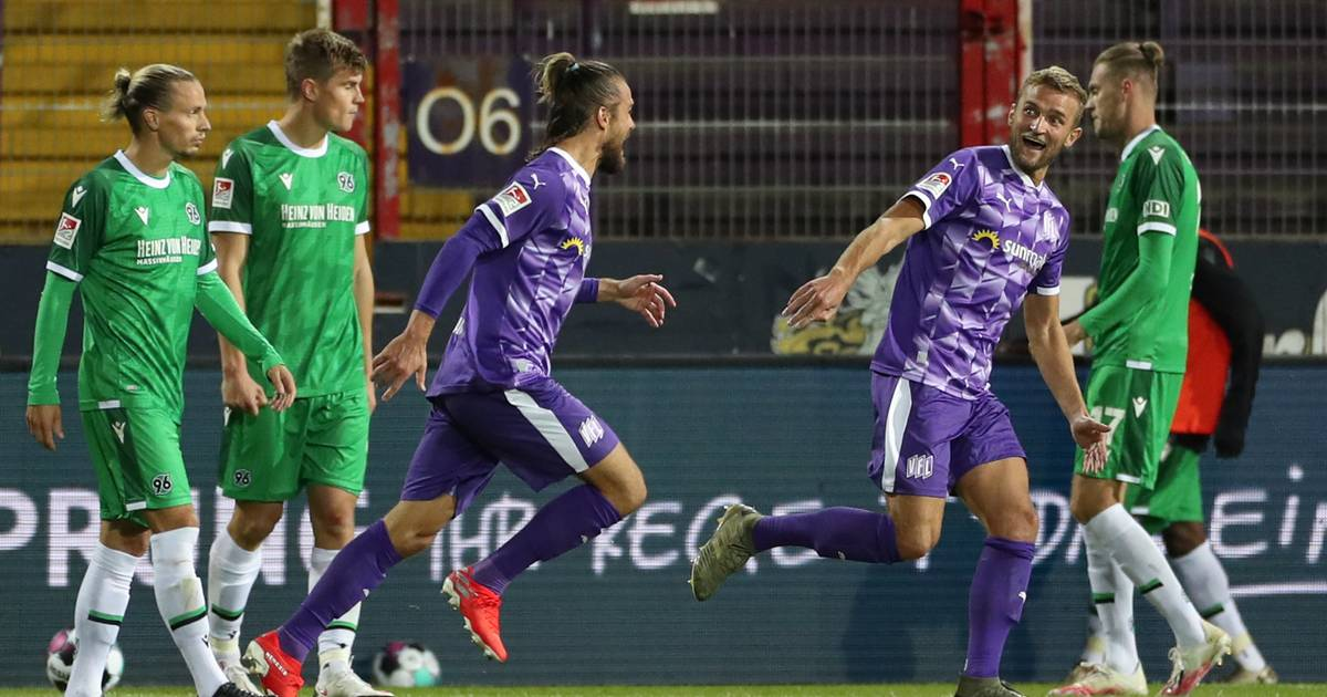 2. Bundesliga: Hannover patzt in Osnabrück – Aue bleibt Tabellenführer