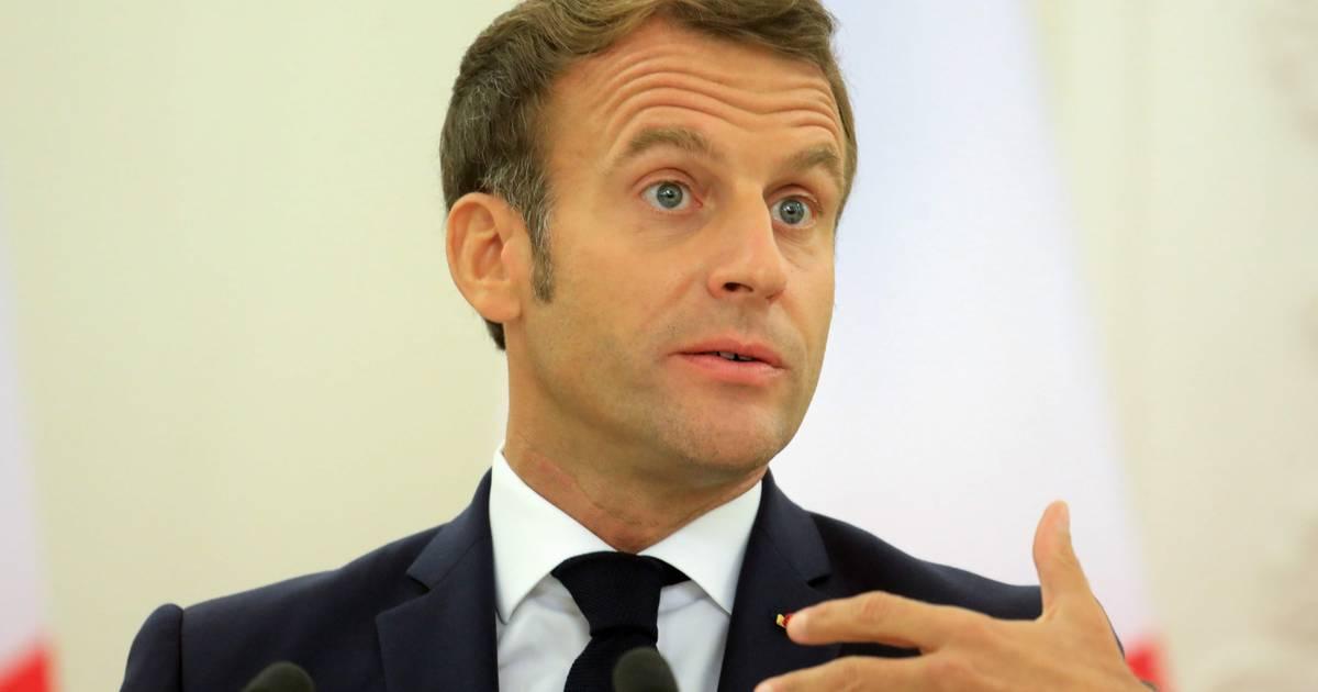 Emmanuel Macron: Frankreichs Präsident will Machtwechsel in Belarus