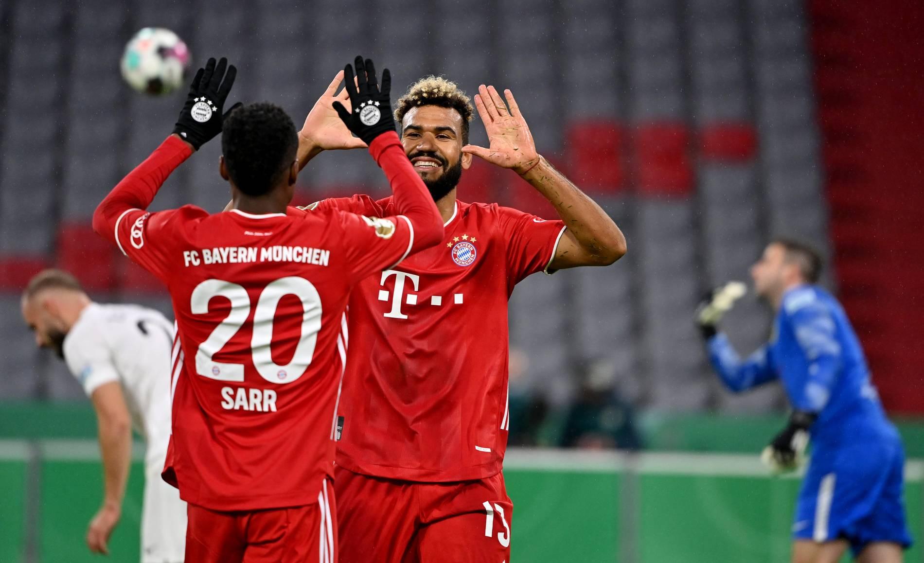 FC Bayern im Pokal gegen Fünftligist Düren mit Debütanten