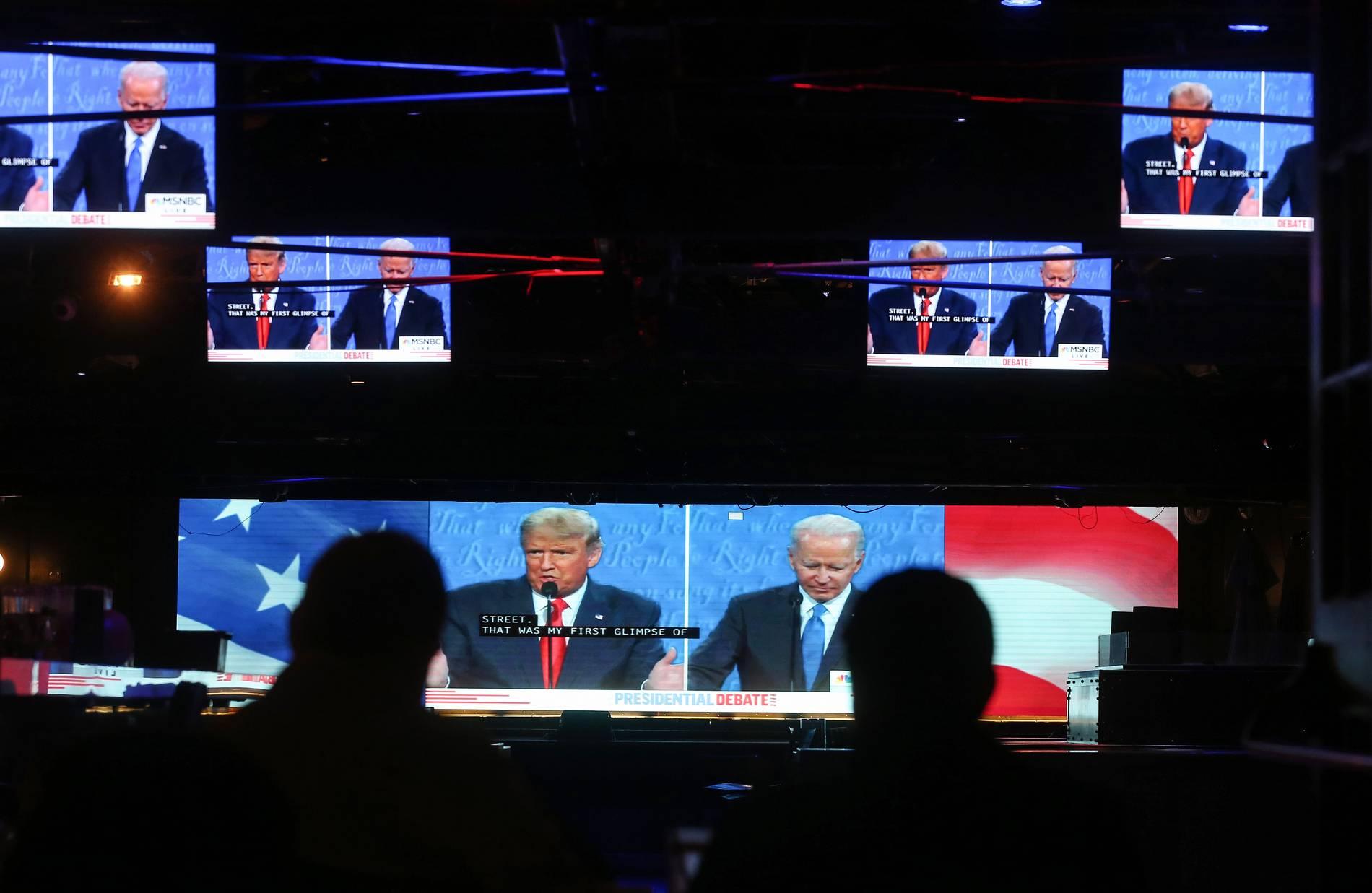 US-Wahl: Trump und Biden gelingt gesittete TV-Debatte